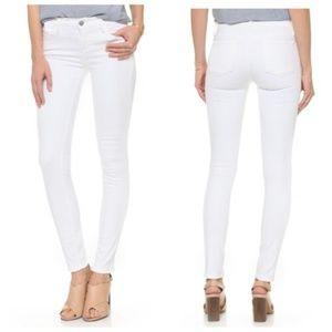 J Brand | 811 Skinny Leg in Snow - White jeans 25